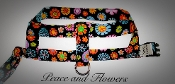 New! Peace & Flowers Harness