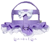 Lavender and Lace Dog Harness